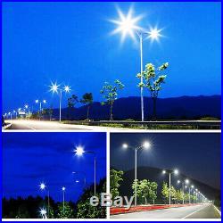 300W LED Shoebox Light Parking Pole Lot Light With Dusk-to-Dawn Photocell Sensor