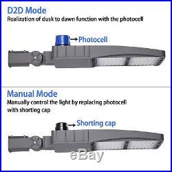 300W LED Shoebox Light Street Light Parking Pole Lot Light 5000K DLC ETL 42000LM
