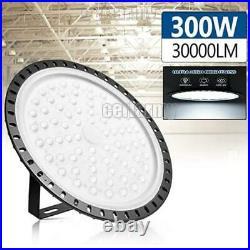 300W UFO LED High Bay Light Warehouse Shop Lights Fixture Industrial 300 Watt