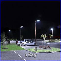 300 Watt LED Shoe box Parking Lot Lights- UL DLC 5000K Adj Mount (Slip fit)