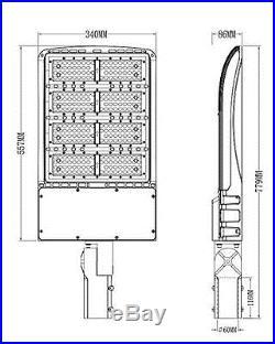 300 Watt Phillips LED Pole Light fixture energy efficient parking lot outdoor