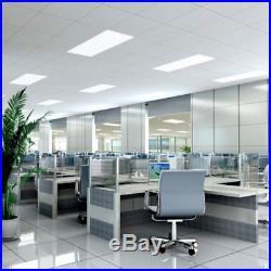 36 Watt 2X4 2 Pack LED Flat Panel Troffer Light Fixture 4000K- DLC Premium