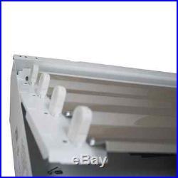(3) 4 Lamp T5 High Bay Fluorescent Light Fixture Garage Shop T5HO High Output