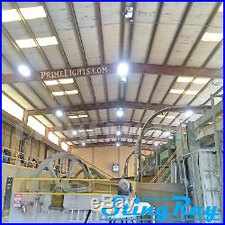 3 Pack Led High-bay Warehouse Light Bright White Factory Replace Metal Halide