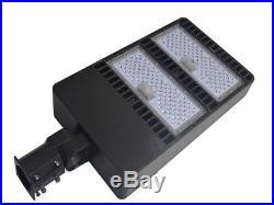 400W LED Fixture Parking Lot Pole Efficient Light Outdoor Street Site Area Light