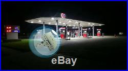 400W MH Parking Lot Shoebox Light 120W LED Retrofit Kits With Meanwell driver