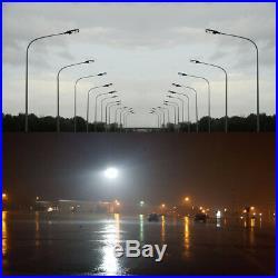 400 Watt MH Parking Lot Lights Replacement Shoebox Flood Light 480V Slip Fitter