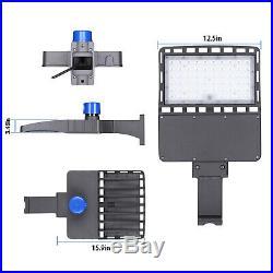 480W 300W 150W LED Shoebox Light Street Light LED Parking Pole Lot Light 5000K