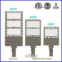 480W 300W 150W Led Street Pole Light Parking Lot Light Outdoor LED Shoebox Light