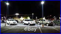 48W LED Parking Lot Light 2Pack Shoebox Commerical Pole Light 5280lm Sport Court