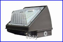 48W LED Wall Pack Light Commercial Outdoor Industrial Light Fixture Garage Yard