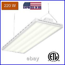 4FT 220W LED Shop Light Utility Linear High Bay Light 5000K (Daylight) 26500LM