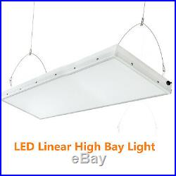 4FT 240Watt LED Linear High Bay Warehouse Light LED Shop Lamp 5500k Bright White