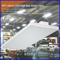 4FT LED Linear High Bay Light 220W Garage Warehouse Workshop Fixture 26500LM