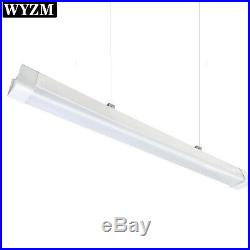 4FT LED Vapor Tight Light, 40W 4400LM Vapor Proof Parking Garage Light Fixture