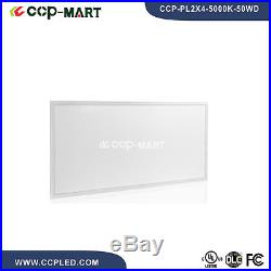 4PCS/BOX 2x4FT 50W 5000K DIMMABLE LED PANEL LIGHT UL APPROVE 110LM/W DLC LISTED