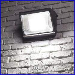 4Pack 120W Led Wall Pack Light Commercial Industrial Outdoor Light Dusk to Dawn