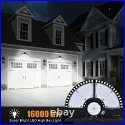 4Pcs 200W UFO LED High Bay Light Shop Lights Bulb Warehouse Industrial Outdoor