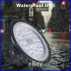 4Pcs 200W Watt UFO LED High Bay Light Warehouse Led Shop Light Fixture 20000LM