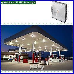 4Pcs 70W LED Canopy Ceiling Light Fixture 5000K Bay Light for Garage Warehouse
