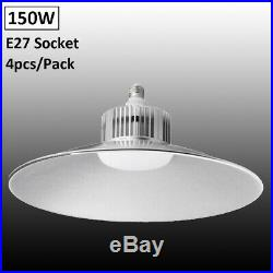 4X 150W LED High/Low Bay Light Lamp Warehouse Shop Shed Factory Industry Fixture