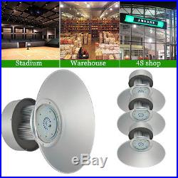 4× 150Watt LED High Bay Light White Lamp Lighting Shed Factory Industry Fixture