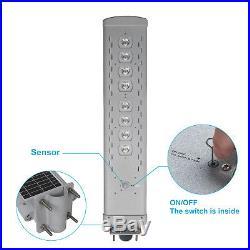 4,500LM Commercial Solar Street Light Outdoor IP65 Motion Sensor Backyard Lights