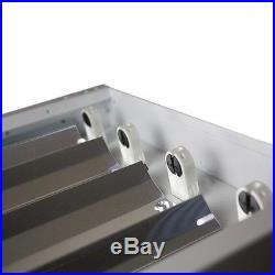 4 Lamp F54T5HO T5 High Output Fluorescent High Bay Multi Voltage 120-277V