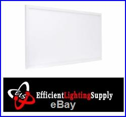 4 PACK 2x4 Ft DROP CEILING LED FLAT PANEL LIGHT DIMMABLE 50W 5000K DLC
