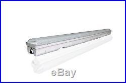 4/PACK 4FT Vapor tight led light 30W 5000K Milky UL DLC certified