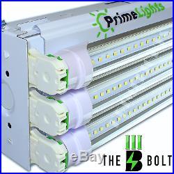 4 PACK LED SHOP LIGHT 4FT Utility Ceiling Light Fixture 5000K Daylight USA MADE