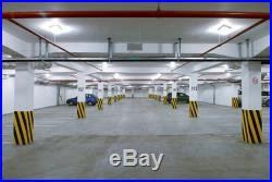 4 Pack 45W LED Canopy Lights Outdoor Gas Station 5500K HID/MH Equivalent to 250W