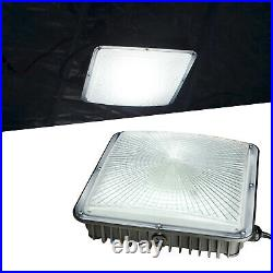 4 Pack 45W LED Gas Station Canopy Light 5500K Daylight 250W HID/MH Equivalent