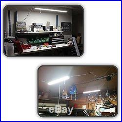 4 Pack Hykolity Utility 4FT LED Shop Lights 40W 4800 Lumen LED Garage Light New
