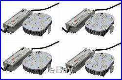 4 pcs 150W LED Light Retrofit Kit for wall pack streetlight shoebox replacement