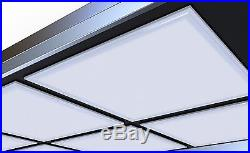 4pc/box 2x2 Led Panel Lights Edge-lite 36w 4000k Dimmable 110lm/watt Ul&dlc Appr