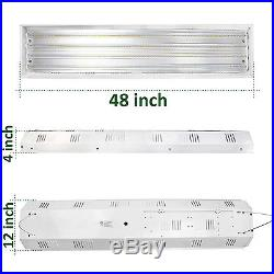 4x 160W 4 Lamp 4FT Industrial LED Linear High bay Light 5000K Lighting Fixture