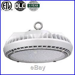 4x 200W UFO LED High Bay IP65 Waterproof 5000K Commercial Lighting Fixture