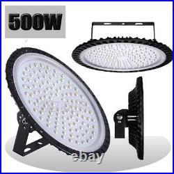 500W UFO LED High Bay Light Shop Lights Bulb Warehouse Lighting Fixture Watt