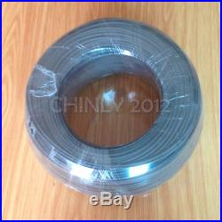 500meter High Bright 1.0mm black Cover Plastic End Glow Fiber Optic Cable