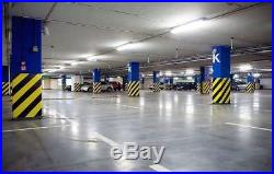 50PCS LED Tube Light-Clear Cover-T8 6000K 4FT 48 Inches-20W Cool White EK