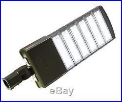 50-300W LED Module Shoebox Street Parking Lots Pole Outdoor Site Area Light