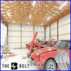 5 PACK 66W LED SHOP LIGHT 5000K Daylight Fixture Utility Ceiling Lights Garage