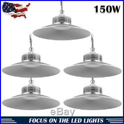 5 X150W LED High/Low Bay Light Lamp Warehouse Shop Shed Factory Industry Fixture