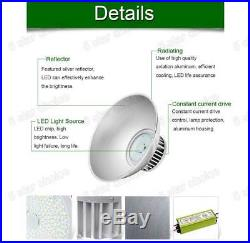 5 X 100W LED High/Low Bay Light Lamp Warehouse Shed Factory Industry Fixture US