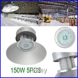 5 x 150W LED High Bay Light Warehouse Industrial Factory Lamp Shed Lighting