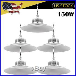 5 x 150W LED High/Low Bay Light Chain Mount Gas Station Warehouse Factory Lamp