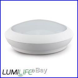 5x 15w 2D LED Light IP65 Indoor Outdoor Bulkhead Microwave External PIR Sensor