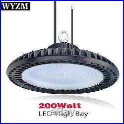 60W 100W 150W 200W 300W LED UFO High-Bay Fixture Warehouse Industrial Area Light