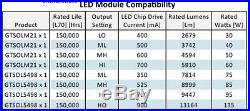 60 Watt Led Refractor Lens Retrofit Kit For Post Top Street Light 120 277 Volt